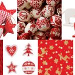 Kerstdecoratie rood