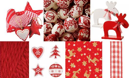 Kerstdecoraties met rood het beste idee van inspirerende interieurfoto 39 s - Keuken in rood en wit ...