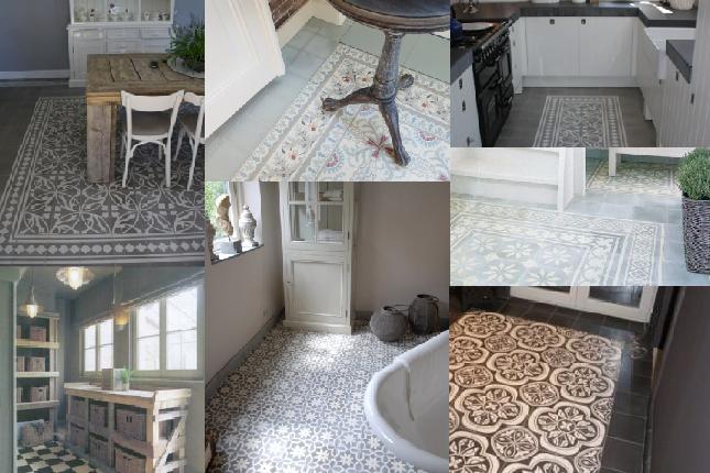 Marokkaanse Tegels Toilet : Cementtegels: voor een prachtige mozaïekvloer