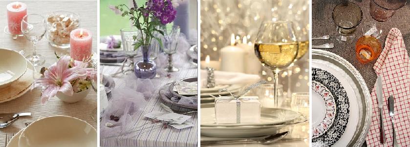 Feestelijke tafel dekken met eigen accessoires