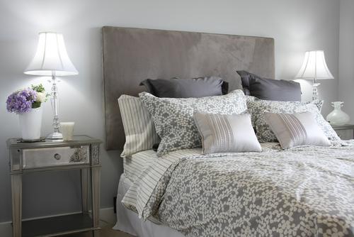 slaapkamer wit grijs  consenza for ., Meubels Ideeën