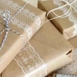 Kraftpapier inpakken
