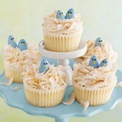 paascupcakes blauw