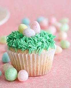 paascupcakes groen