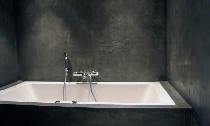 Betonlook Badkamer Maken : Betonlook bijzonder stucwerk in de badkamer jouw woonidee
