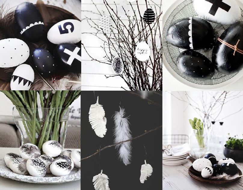 Pasen zwart wit
